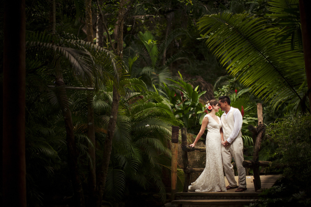 las caletas mexico destination wedding