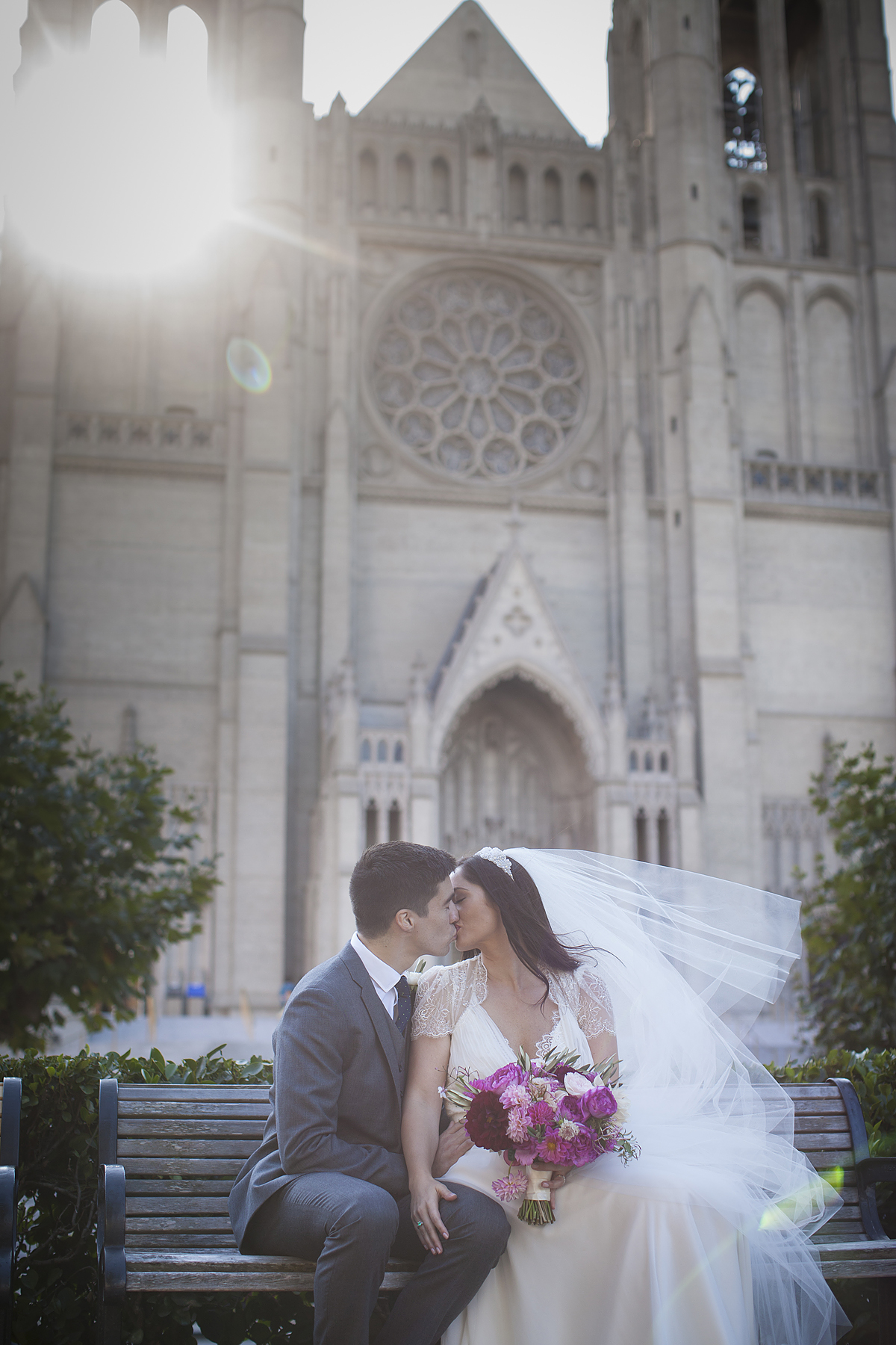 Grace Cathedral Wedding